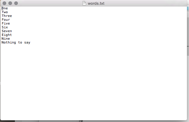 Use Mac OS to generate speech files from text – The Mnemonic
